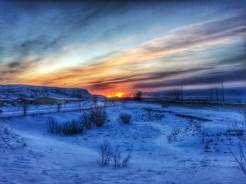 Sunrise on the Golden Circle