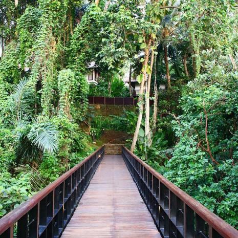 Walking through Paradise at Kayumanis Ubud, Bali